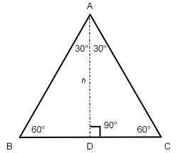 Bisect the equilateral triangle to better understand trigonometric functions.