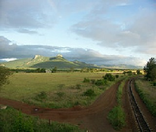 Lebombo Mountains of Swaziland Africa