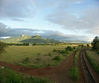 Lebombo Mountains of Swaziland Africa