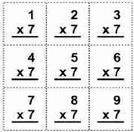 Math Flash Cards.