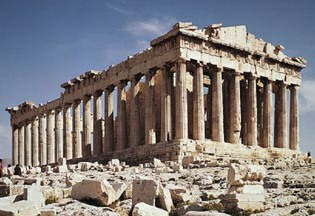 Greek Parthenon.