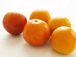 Five oranges.