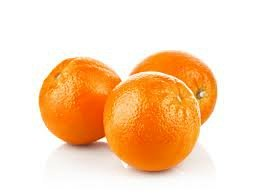 Three oranges.
