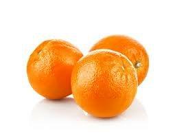 Three oranges.
