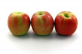 Adding three apples.