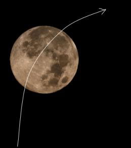 Parabolic flight path